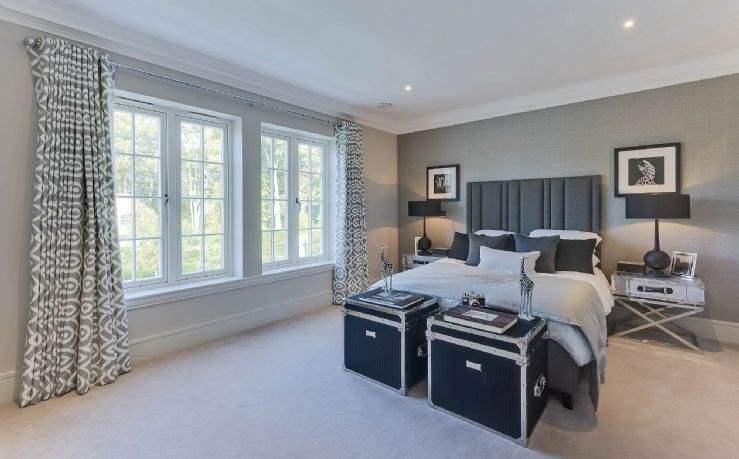 Grey rental interior