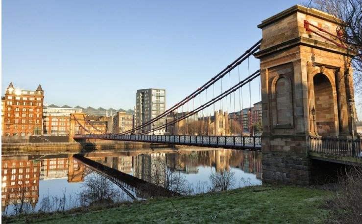South Portland Street Suspension Bridge, Glasgow