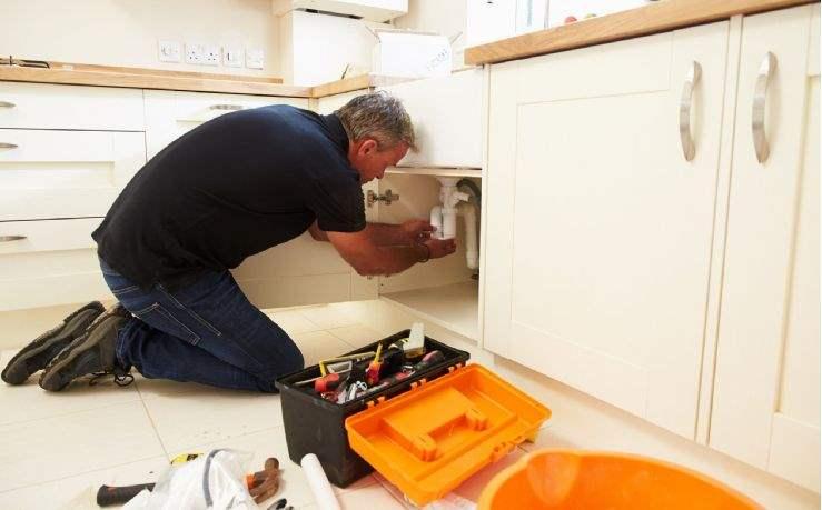 Fixing a minor plumbing defect