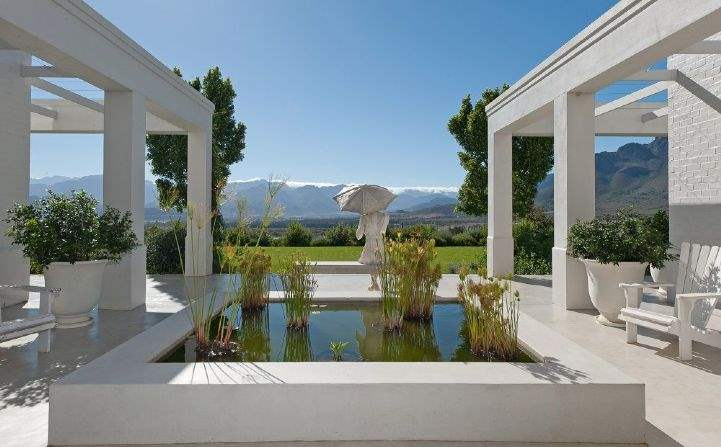 Boschendal Wine Farm, Western Cape, South Africa