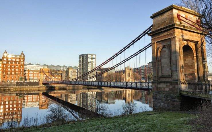 South Portland Street Suspension Bridge, Glasgow