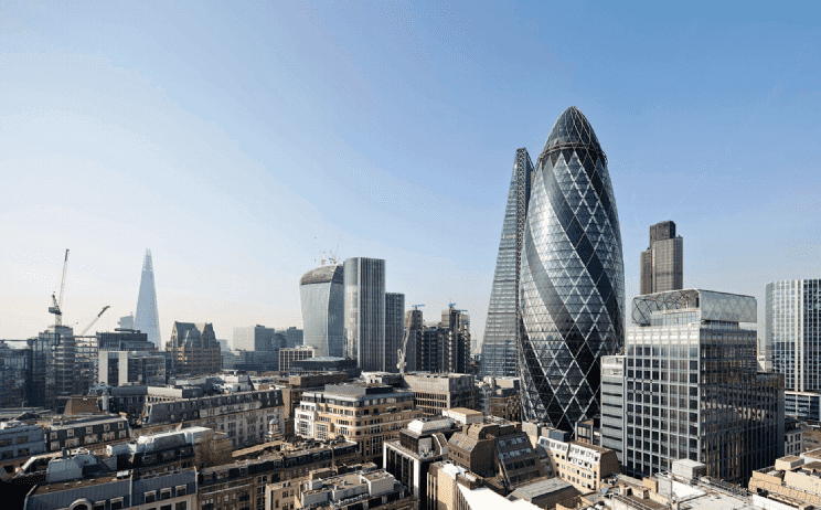 How Savills sold The Gherkin