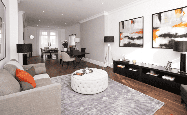 Living Area, Clarence Road, Windsor