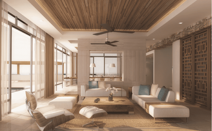Mia Resort Nha Trange Living Area