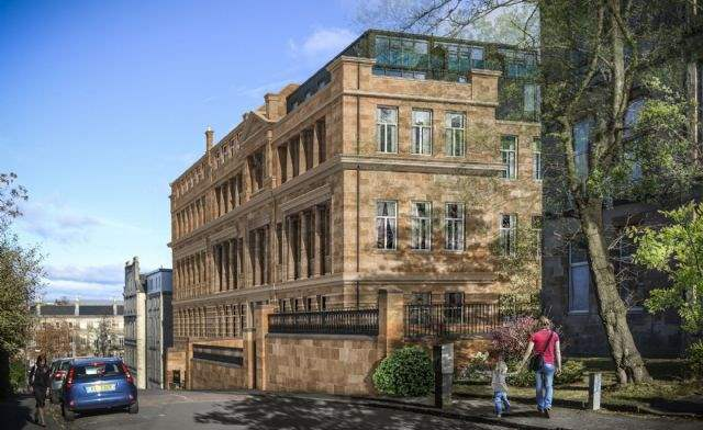 The School House, West End, Glasgow