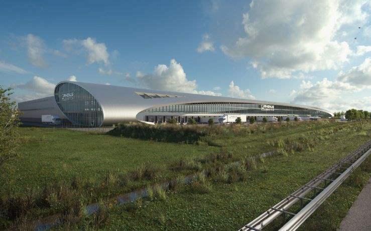 Rhenus Contract Logistics' new facility at Het Laar, Tilburg, Noord-Brabant, the Netherlands