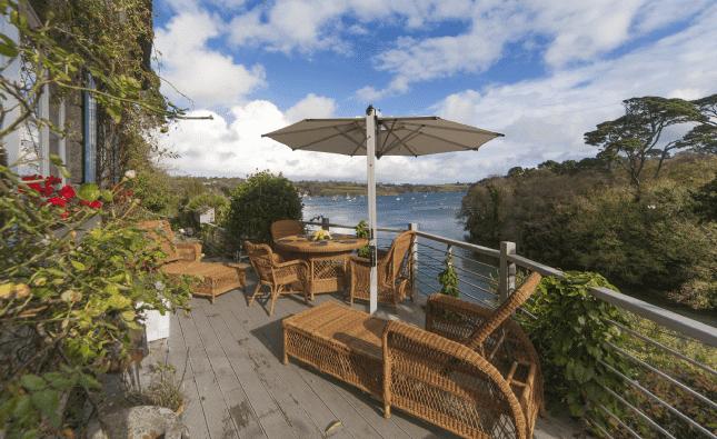 6 of the Best: Lizard Peninsula, Cornwall - terrace