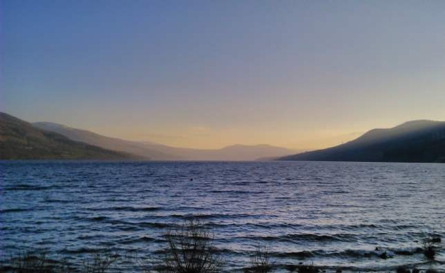 View of Loch Tay, Shoreside, Perthshire
