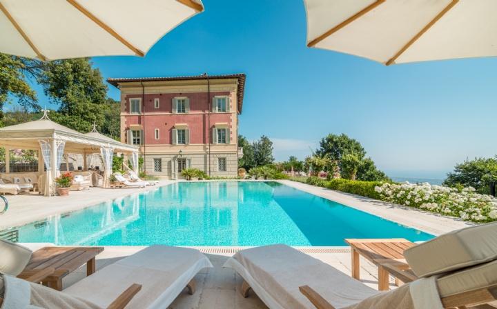 Villa Anna, Pietrasanta, Lucca, Tuscany, Italy