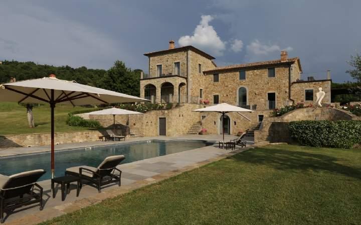 Villa Lavanda, Lisciano Niccone, Perugia, Umbria, Italy