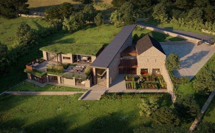 Building plot, Woolley Moor, Derbyshire