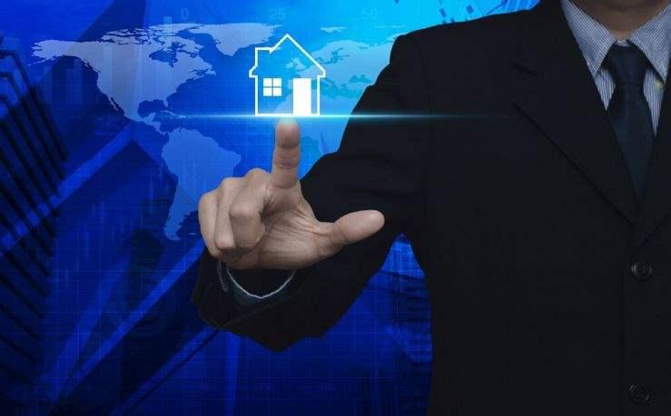 World real estate values